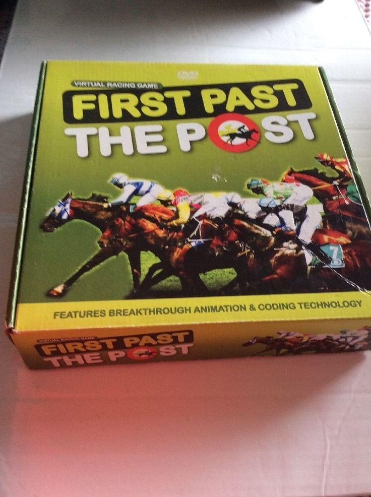 First Past The Post, Virtual DVD Racing Game in Toys & Games, Games, Adult & Drinking Games | eBay!