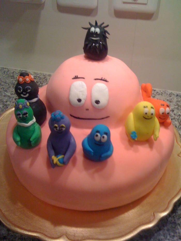 Le gâteau «Barbapapa»