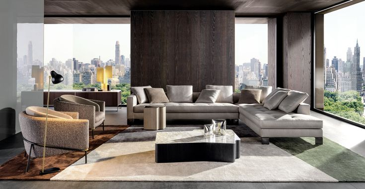 POLLOCK | SOFAS - EN With a contemporary eye, the Pollock seating system revisits the aesthetic values that distinguished the eponymous seating system, a company best-seller at the end of the '90s.