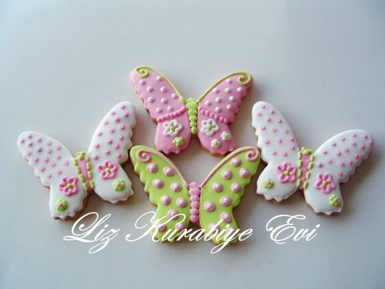 butterfly cookies   Flickr - Photo Sharing!