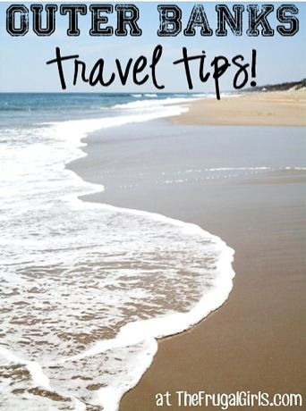 10 Fun Things to See and Do around the Outer Banks! ~ from TheFrugalGirls.com ~ you'll love all these insider travel tips and tricks for your next vacation to the beautiful North Carolina beaches! #outerbanks #northcarolina #thefrugalgirls