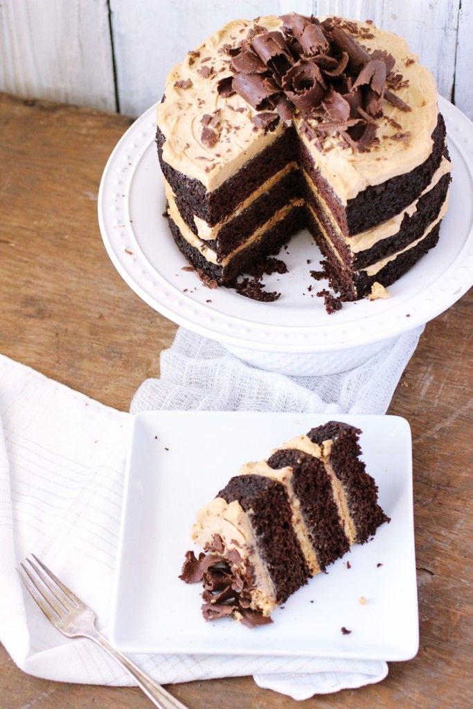 Chocolatepeanutbuttercake2 Vegan Veggie And Gluten Free Cake