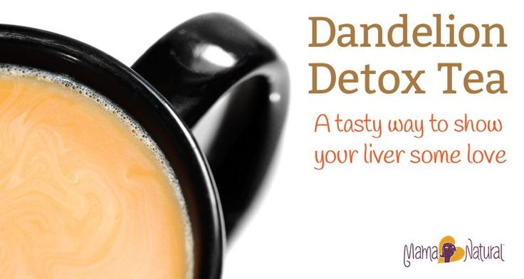 Show your liver some love with this tasty dandelion root tea detox drink! Gluten and GMO-free, and super tasty too | I plan to sub in Dandelion Tea to be assured that it is GF.