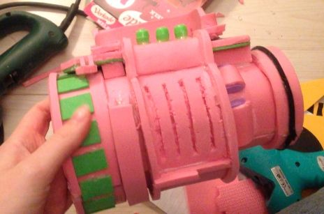 Pipboy Step-By-Step Foam Assembly