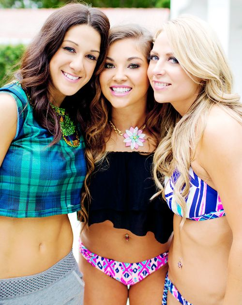 #NXT Bayley,Devin Taylor and Emma
