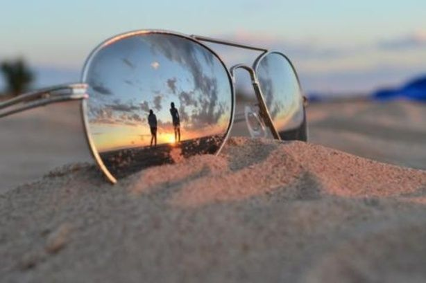 Geen standaard zonsondergang foto, like!
