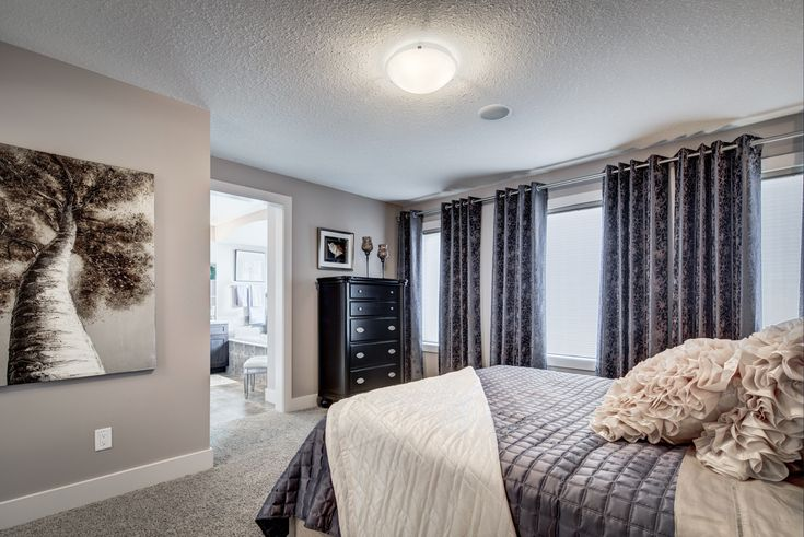 Owner's Suite - so much natural light!  http://blog.yourpacesetter.com/blog/bid/335496/New-Show-Home-The-Kristana-in-Crystallina