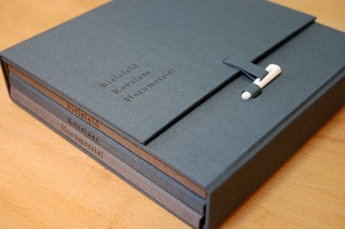 Omslag voor serie fotoboekjes