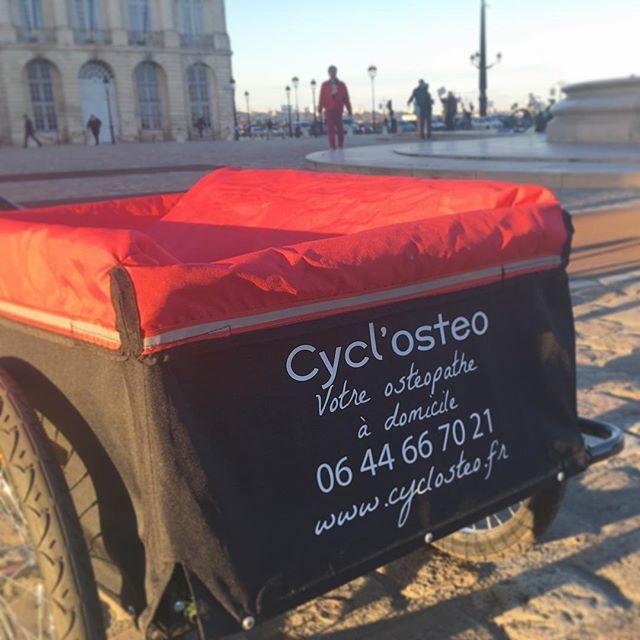 #cyclosteo   Alexandre, Ostheopathe à domicile et à vélo sur Bordeaux