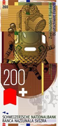 Swiss banknotes contest 2nd prize (ex aequo): Woodtli Martin, Zurich