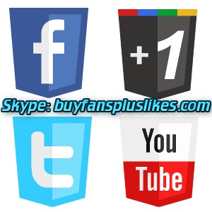 We can provide you with thousands of Facebook Fans and Likes, Google +1s, YouTube Views and Twitter Subscribers and Followers. If you need to boost your social authority and online presence, you've come to the right place. Those social fans are potential clients. All of the followers that we deliver to your web property are real, active people which will interact with your content.