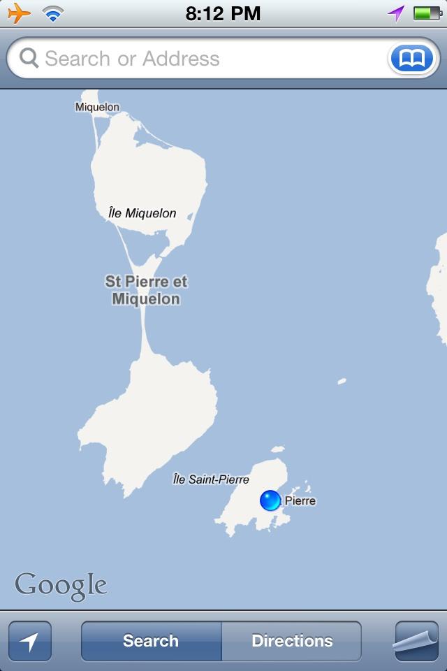 Best St Pierre Et Miquelon Images On Pinterest Newfoundland - Saint pierre and miquelon map