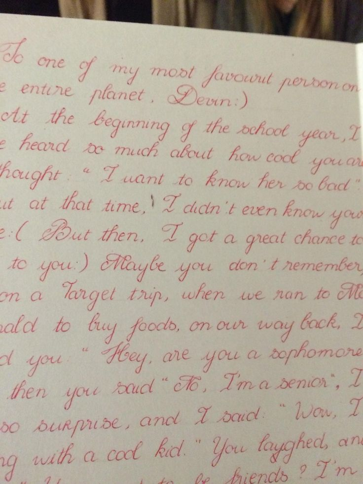 This is some of the most beautiful handwriting I've ever seen. The girl at my school writes like this for everything, too. - Imgur
