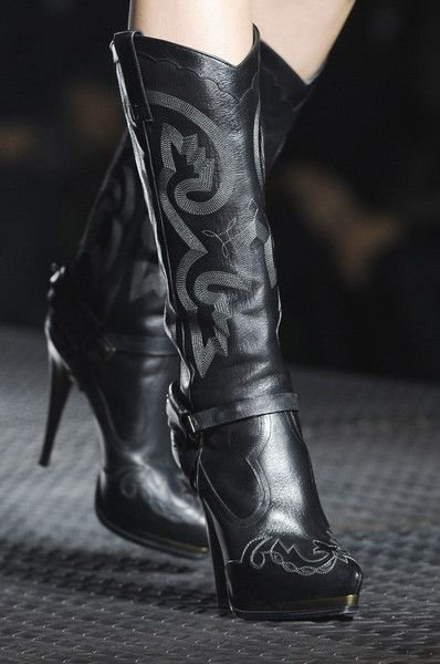 Lanvin Spring 2013. Always wanted a high heel platform cowboy boot