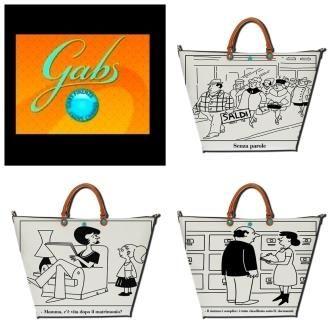 Sarjakuvan ystävälle Gabsin Studio Bellissiman Comic-käsilaukku! ;)