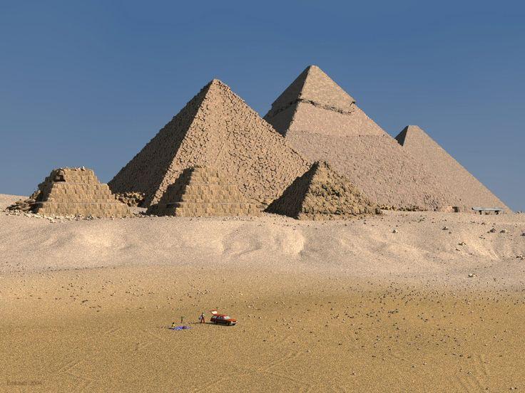 Image detail for -Todas Las Maravillas del Mundo - Taringa! Pirámides de Egipto