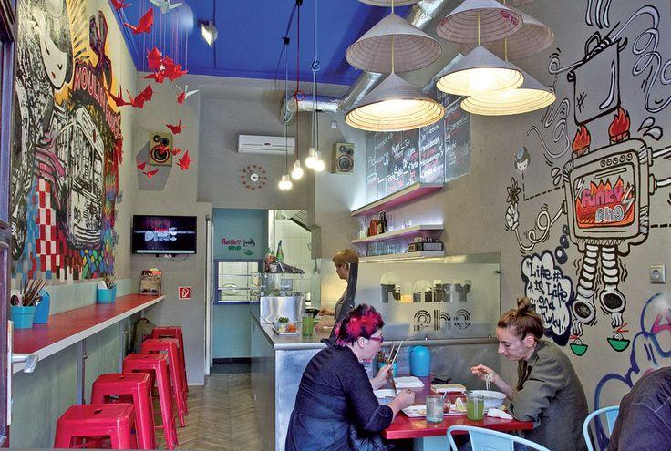 Az év legjobb street-foodja: Funky Pho Street Art Food