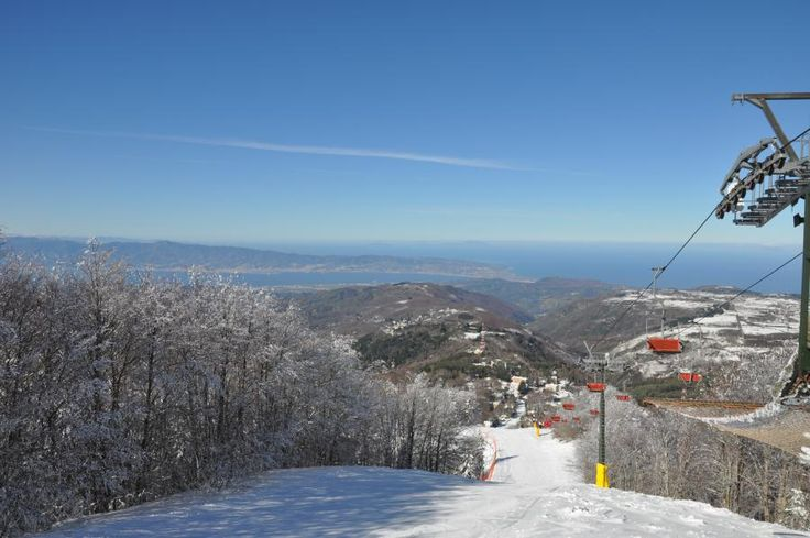 Skiing in Gambarie