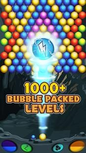 Download for free this awesome bubble shooter game and explore the enchanted bubble cave, full with gems and diamonds.