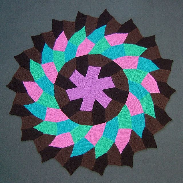 Wheels Within Wheels - Tessellation of identical 5-sided modules