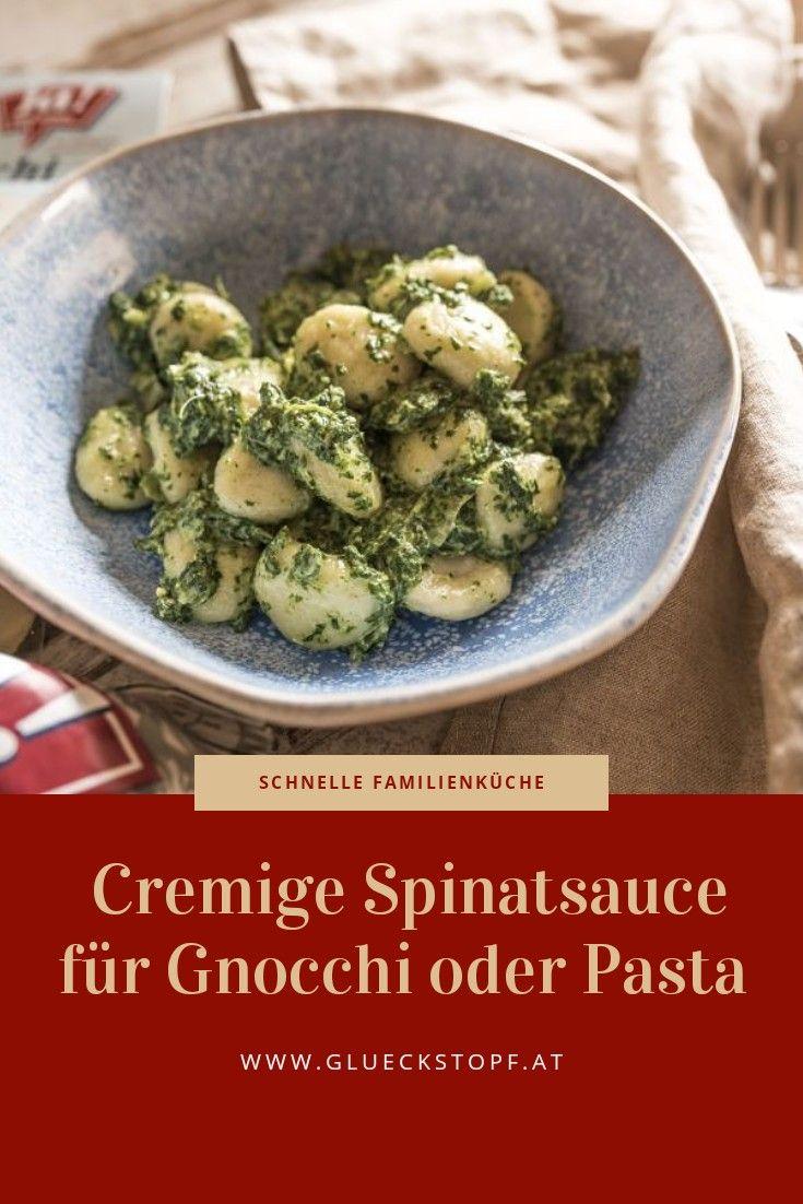 Rezeptideen Fur Schnelle Gnocchi Saucen Mit Blattspinat Perfekt Fur Die Gesunde Familienkuche Rezepte Gnocci Rezept Lebensmittel Essen