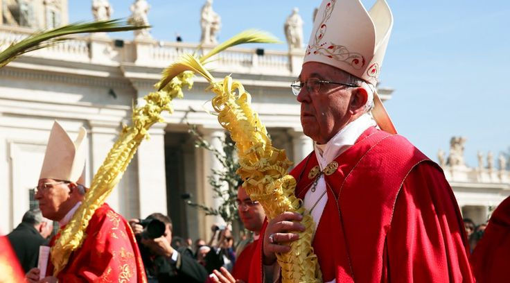 [FOTOS] Papa Francisco en Domingo de Ramos: Renunciemos al egoísmo, al poder y a la fama