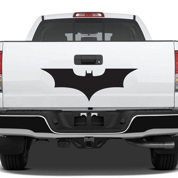 Batman logo decal large car sticker dark knight by urbandecal 24 00