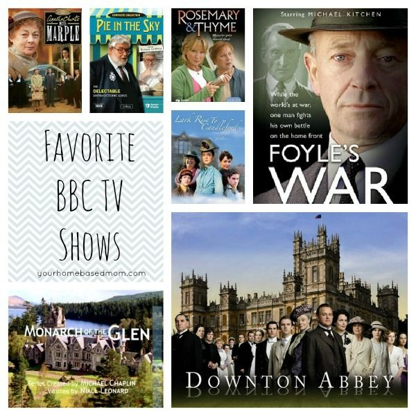 While waiting for Downton Abbey to start again...My Favorite British/BBC TV Shows