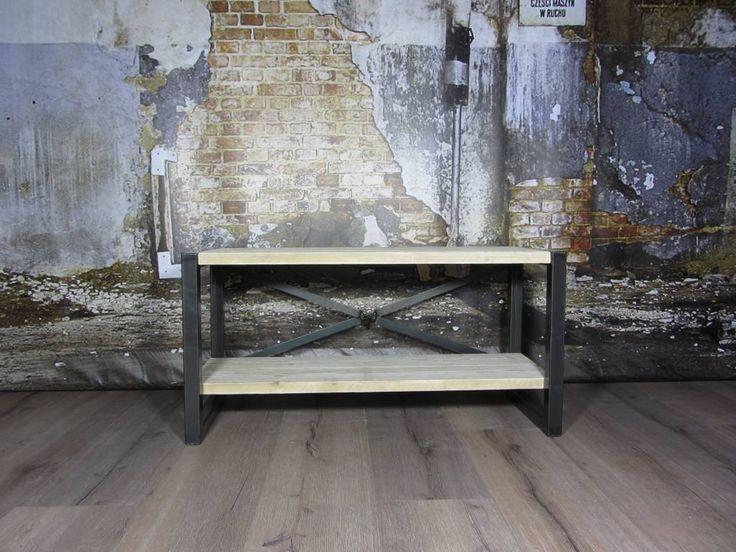 TV-meubel - Industriele tafels