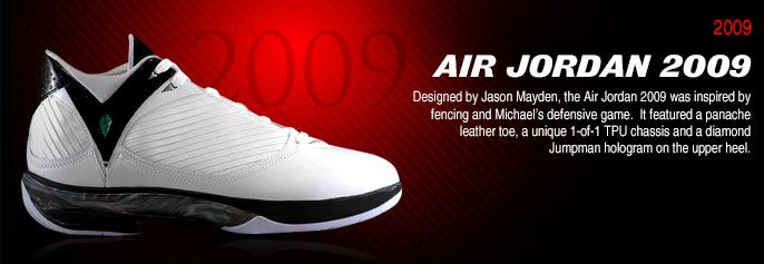History of Air Jordan 2009 #AirJordan2009