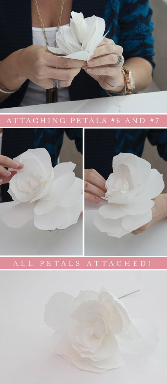 coffee filter roses - Honest To Nod