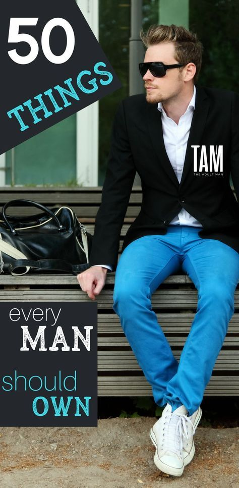 2db15cf7f6 50 Things Every Man Should Own. Click here for products