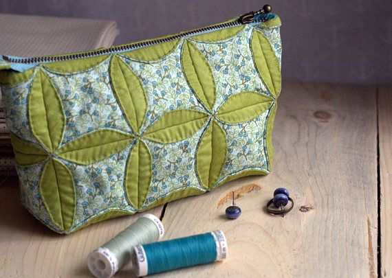 Cosmetic Bag Floral Cosmetic Cases Case with zipper