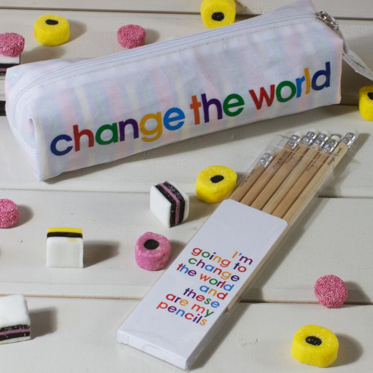 I'm going to Change The World - Pencil Set