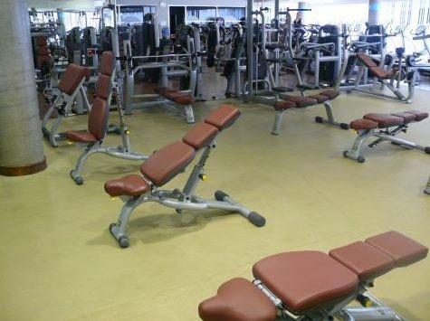 gym - área de peso libre