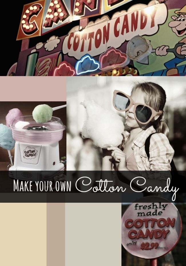 how to make cotton candy at home with a blender