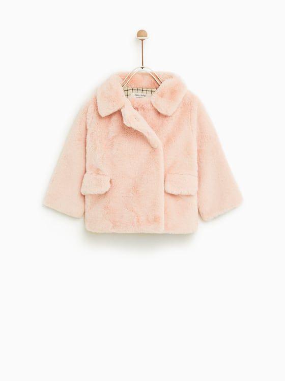 venta de tienda outlet diseño exquisito disfruta del envío gratis CHAQUETA EFECTO PELO | Bimbis | Pinterest | Jackets, Zara ...