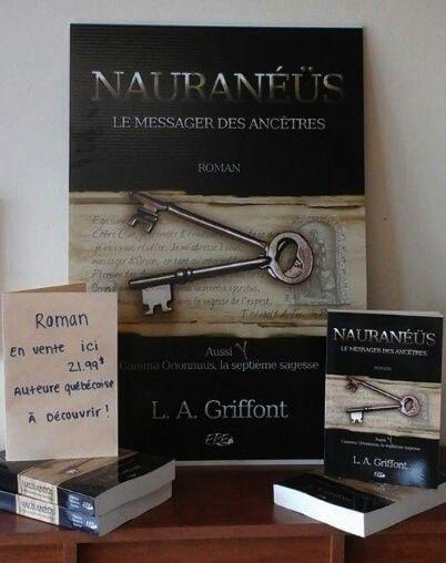 Merci à ma cousine Nathalie Richard d'avoir relevé le défi! Quelques-uns de mes romans sont à vendre dans son restaurant situé au 950 Boulevard du Séminaire N, Saint-Jean-sur-Richelieu, QC J3A 1L2 450-348-2292. Merci chère amie et bon succès!