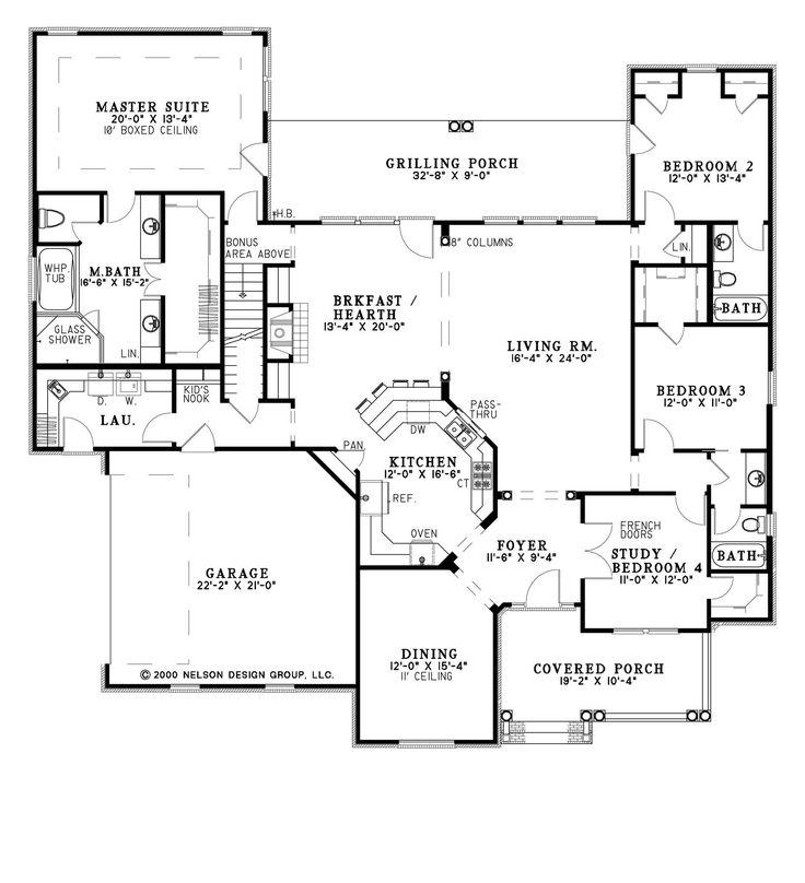 Best House Plans 3gen Hacienda Plan Separate Back Two