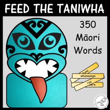 A super-fun, hands-on activity for students learning to read the first 350 high frequency Māori words. Read the word on the kūmara chip and feed it through the hole in the mouth of the taniwha. Included: ♦ 350 kūmara chips - coloured ♦ 350 kūmara chips - black/white ♦