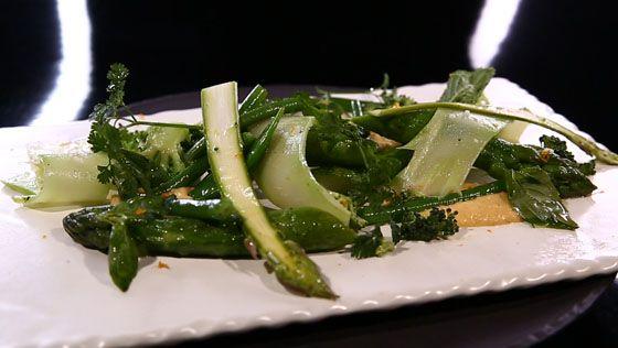 - Légumes verts- Maïs crémeux- Réalisation