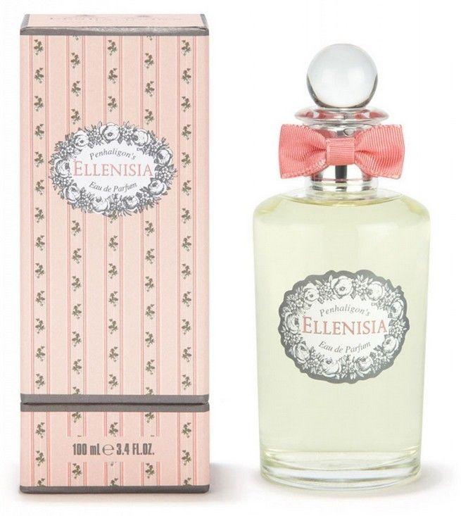 """Penhaligon's London Ellenisia Eau de Parfum 100ml  """"Creato nel 2004, Ellenisia è un profumo fiorito, un po' stravagante, ispirato dal Celtico """"""""Elen"""""""", ninfa. Dopo il preludio di Mandarino e di Violetta, potete chiudere gli occhi ed immaginare i bouquets di Gardenie, Gelsomini e Rose. Una pioggia di petali profumati, da dove fa' poi capolino lentamente la Vaniglia cremosa. Elegante e magico.""""     Piramide olfattiva  Mandarino, Foglie di Violetta  Petali di Gardenia, Rosa  Prugna, Vaniglia"""