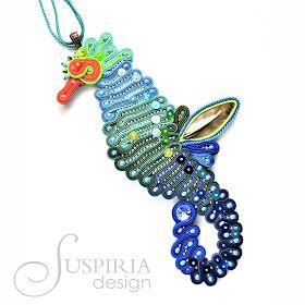 Suspiria Design: Podwodny świat - konik morski :)