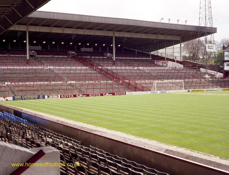 Towards Holte End, Aston Villa,England year1990 by Stuart Roy Clarke #avfcofficial #avfc #BPLKickOff