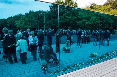 Memorial to the 300,000 people murdered by the Nazis for having mental and physical disabilities or chronic illnesses finally opened last week in Berlin. But has the West really learned anything from history and the danger of believing there's such a thing as unlivable, unworthy life? (click the pic!)