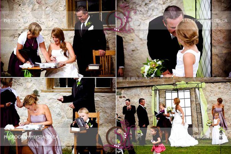 August Barn Wedding.