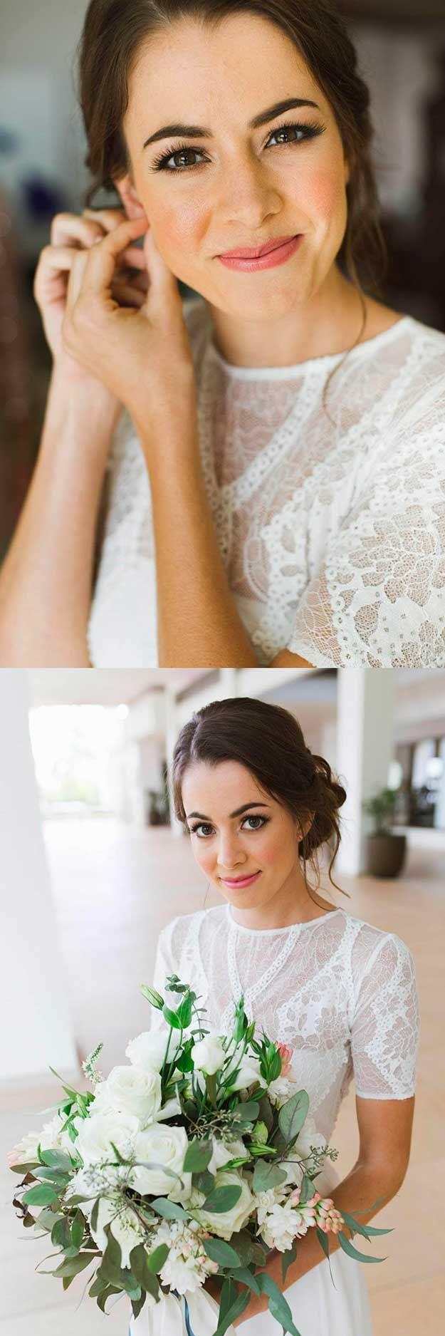 23 Natural Wedding Makeup Ideas