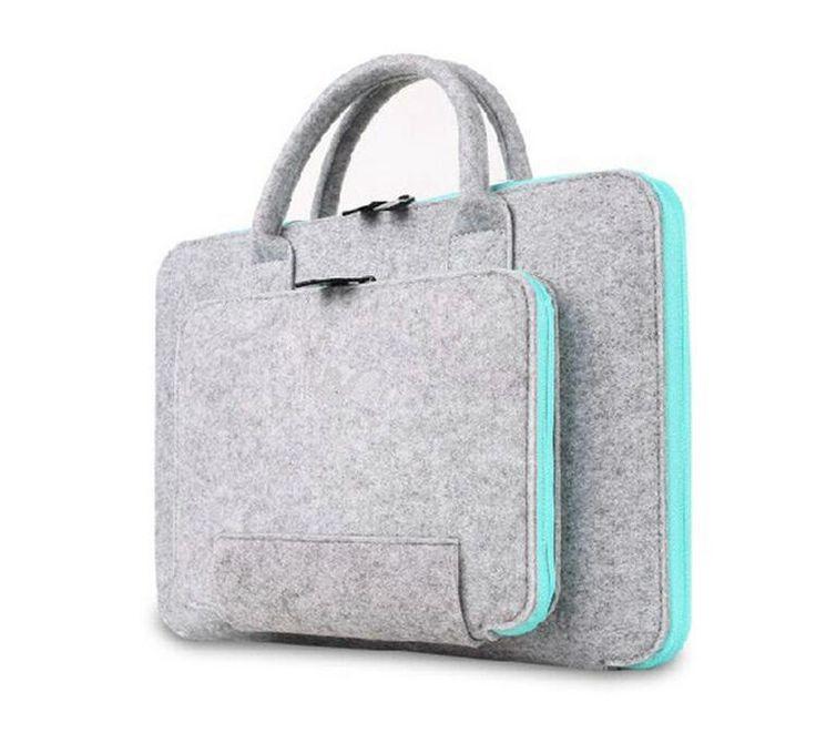 2016 New Filz Universal Laptop Männer Notebook Fall Aktentasche Handlebag Tasche Für Macbook Air Pro Retina Frauen YZ1054 in willkommenzumeinem speicher!khaki vergriffen gewesen jetzt bitte wählen grau oder schwarz, danke!die standardgröße aus Totes auf AliExpress.com | Alibaba Group