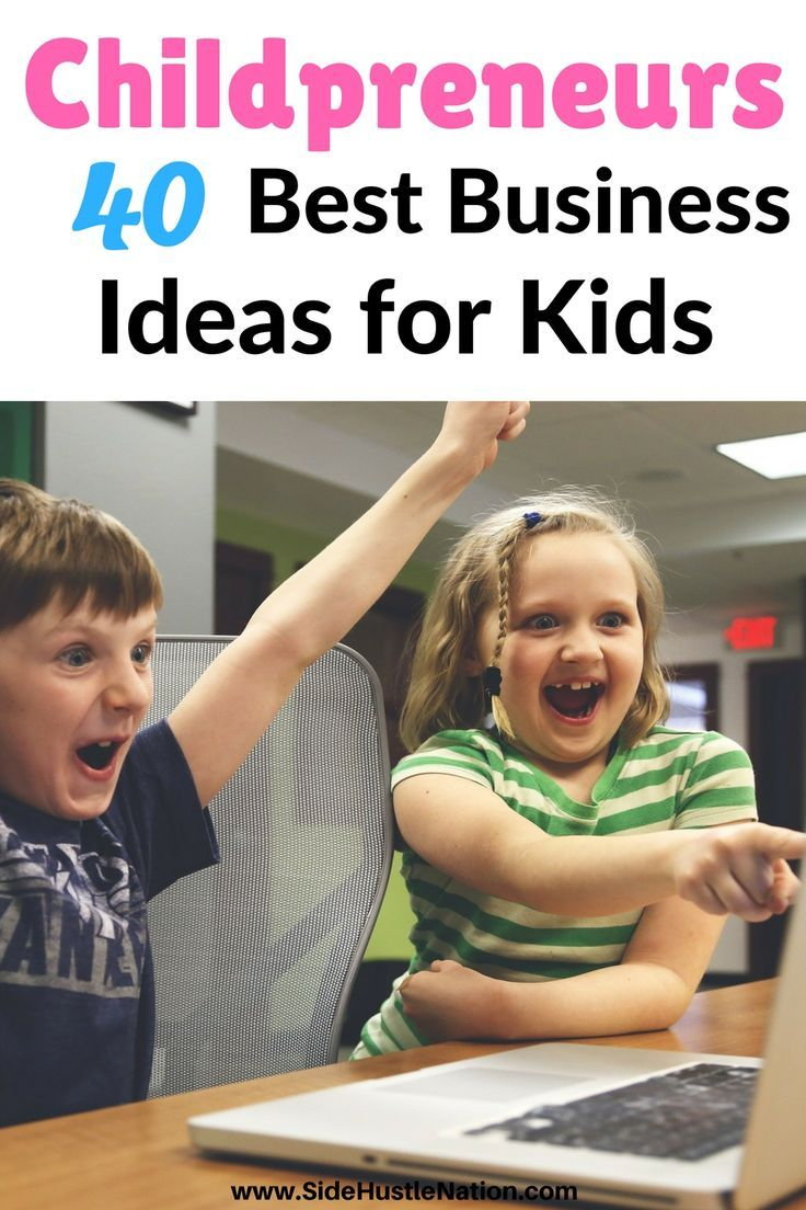 Help your child develop entrepreneur and business skills at an early age! This list of 40 amazing business ideas for kids gives them an early start on the fabulous journey of entrepreneurship. And helps them earn some spending money, too. Childpreneurs 40 best business ideas for kids is a new family fave.