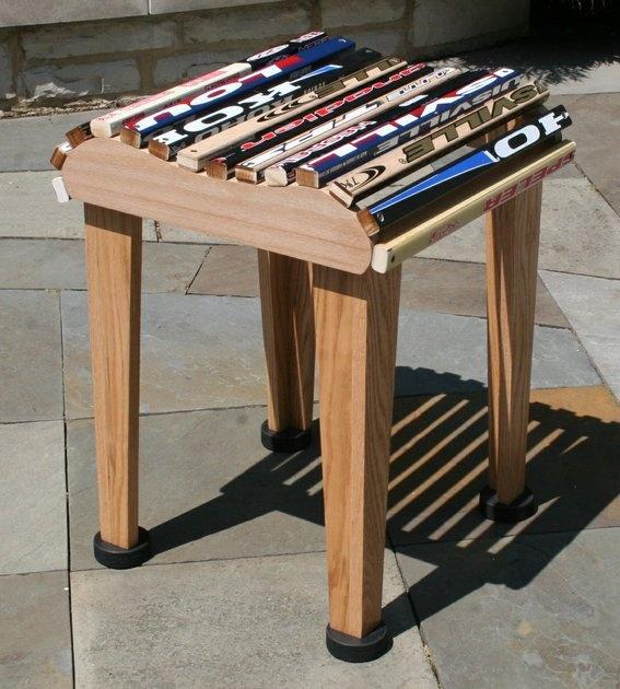 Hockey Stick Barstool Great For The Sports Aficionado | CustomMade